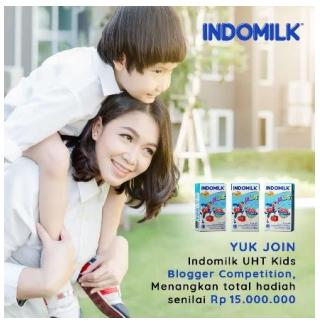 Hasil gambar untuk lomba blog indomilk kids uht
