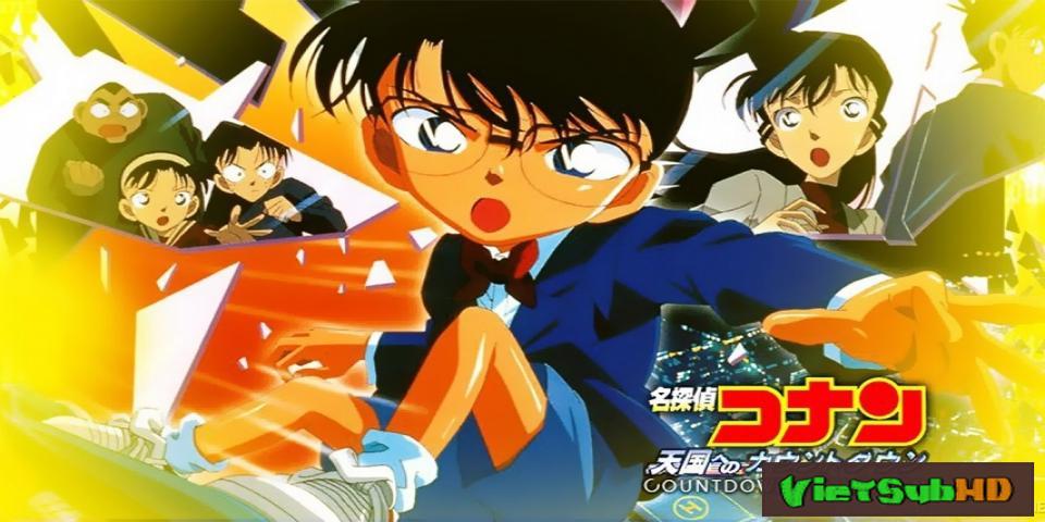 Phim Thám Tử Conan Movie 5: Những Giây Cuối Cùng Tới Thiên Đường VietSub HD | Detective Conan Movie 5: Countdown To Heaven 2001
