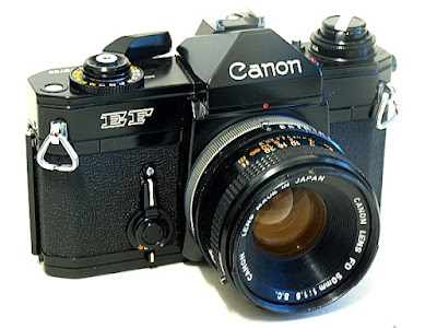 Canon EF, Top Front