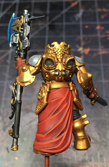 Adeptus Custodes Shield-Captain WIP back