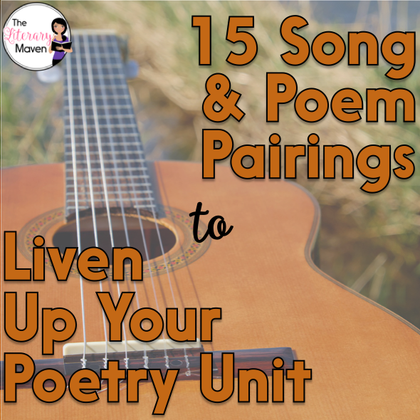 15 Poem And Song Pairings To Liven Up Your Poetry Unit The