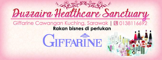 Tempahan Design Facebook Cover Photo : Giffarine Cawangan-Kuching