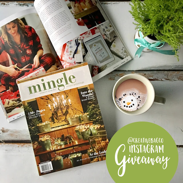enter to win a copy of the Autumn 2016 Mingle Magazine @creativebagco