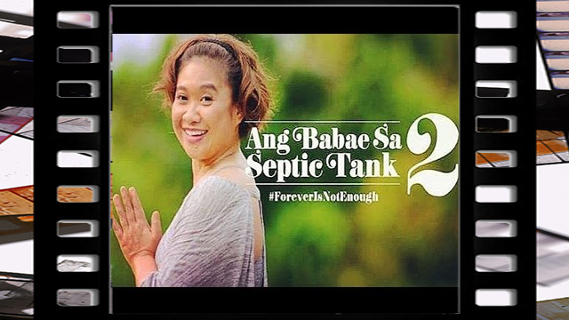 Ang Babae sa Septic Tank 2: Forever is Not Enough is a 2016 Filipino comedy film distributed by Quantum Films.