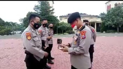 Ada apa Dirpamobvit Polda Banten Periksa Dompet Anggota, Ternyata..