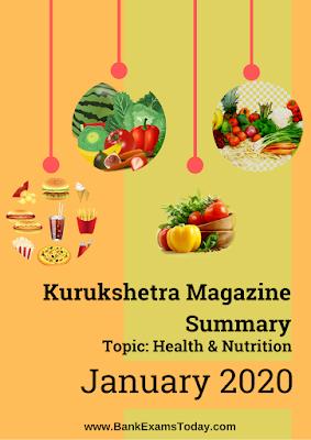Kurukshetra Magazine Summary: January 2020