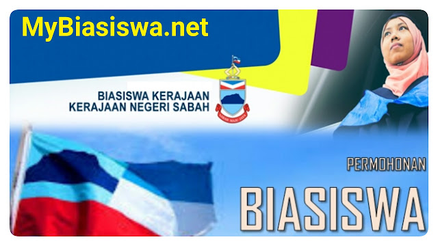 Permohonan BKNS 2018 Online Biasiswa Kerajaan Negeri Sabah