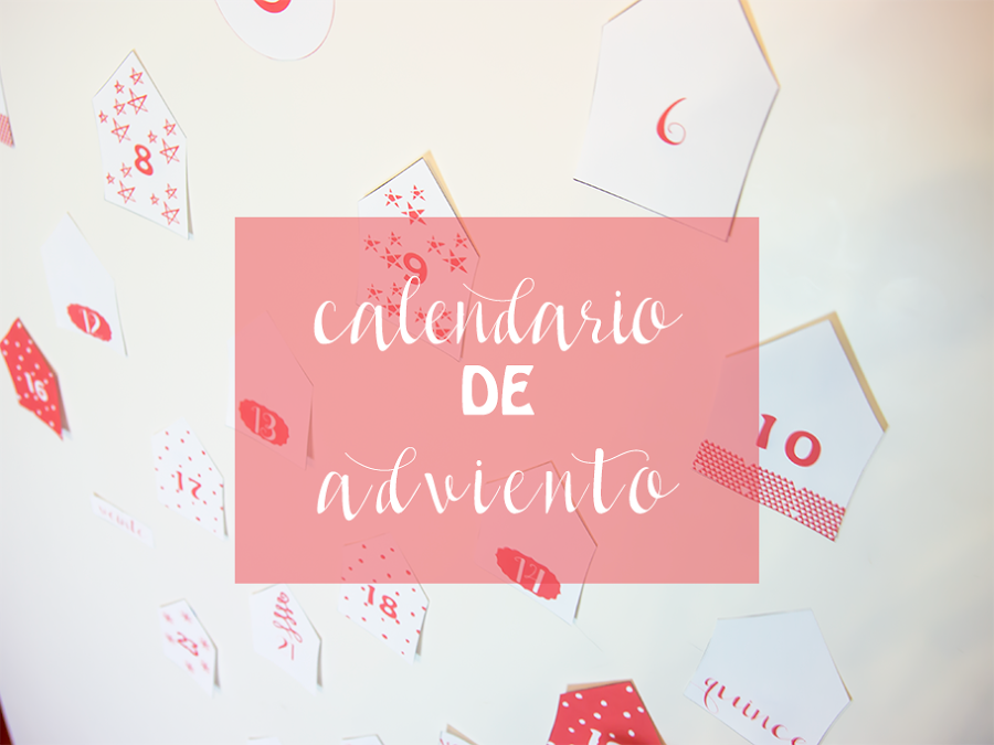 Ideas para tu calendario de adviento