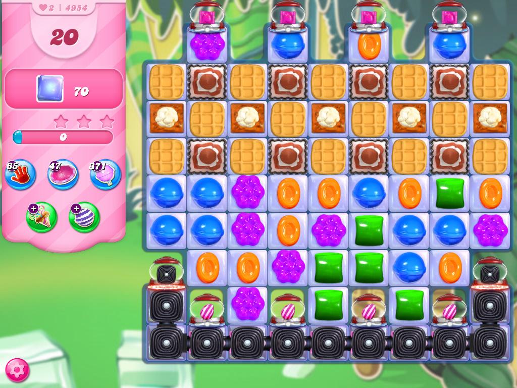 Candy Crush Saga level 4954