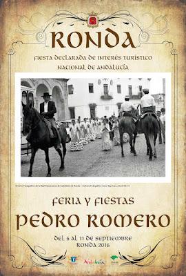 "Feria de Pedro Romero 2016 - Ronda - Salvador Ordóñez ""Cuso"""