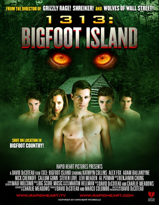"VER ONLINE Y DESCARGAR PELICULA ""1313: Bigfoot Island"""