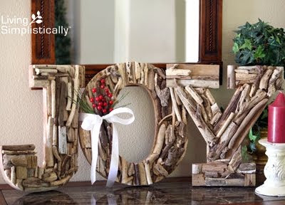 driftwood letters