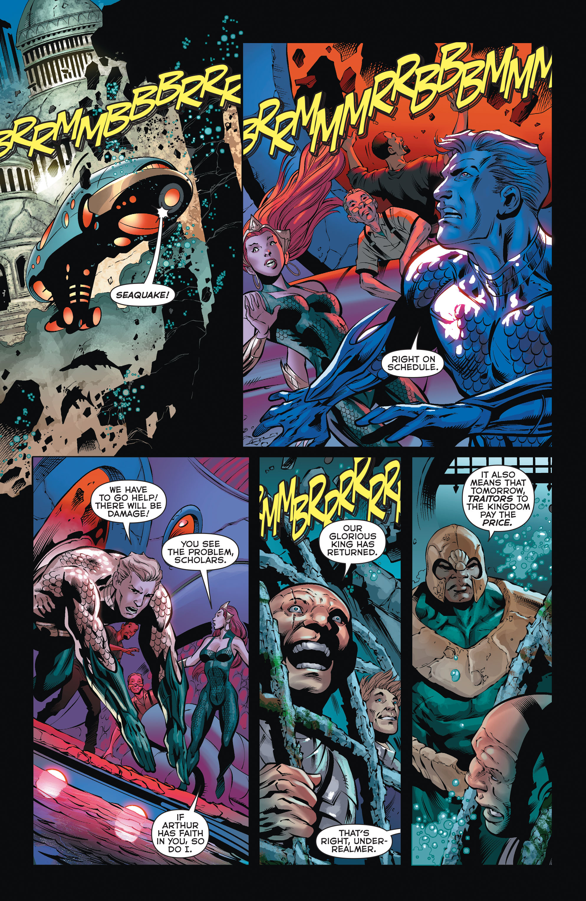 Read online Aquaman (2011) comic -  Issue #35 - 9