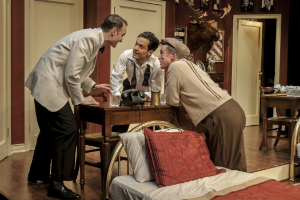 "Review of the play ""Room Service."""