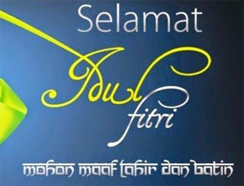 Ucapan Kata Kata Hari Raya Selamat Lebaran Idul Fitri 2020 1441 H