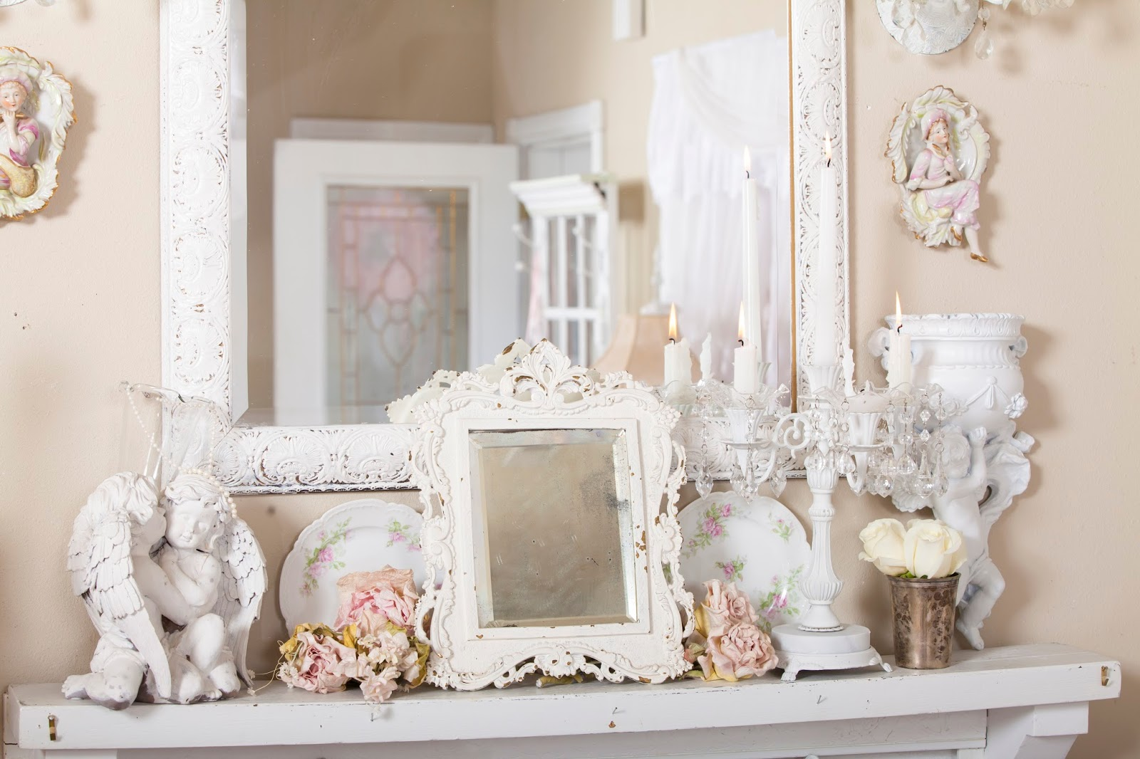 Olivia's Romantic Home: My Shabby Chic living room