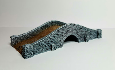 10mm Stone Bridge by Battlescale Wargame Buildings