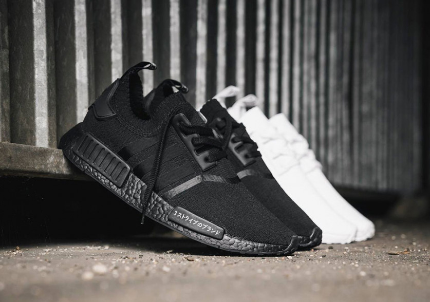 c4f1915da1b Swag Craze: First Look: adidas NMDs in Triple White and Triple Black ...