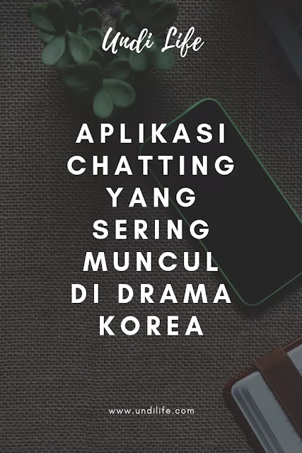 Aplikasi chat korea