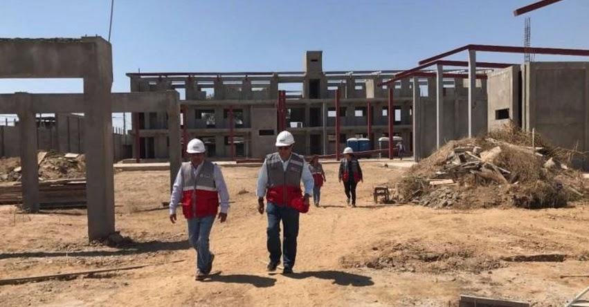 PRONIED intensifica inspecciones a obras en colegios de Huancayo y Jauja - www.pronied.gob.pe
