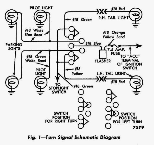 DinnerHill SpeedShop: Turn Signal Switch Diagram