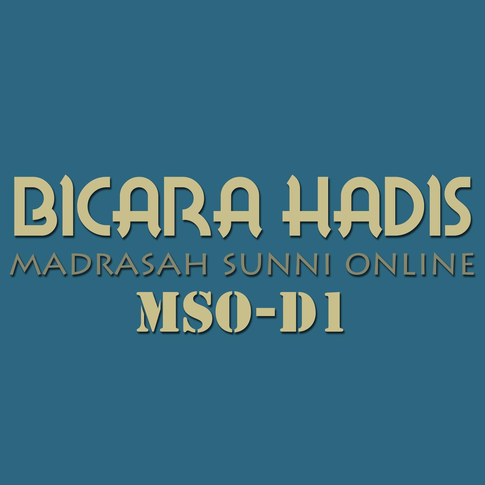 Hadith Berstatus Sangat Dhaif Dhaif Jiddan Mso