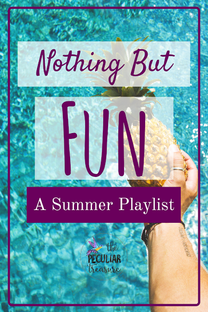 A Fun, Summer Playlist for singing loud with the windows down.