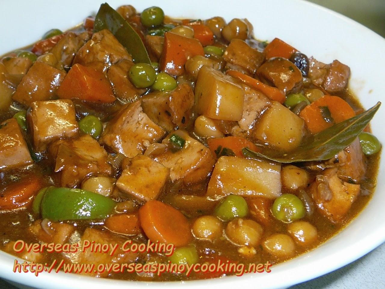 Vegetarian Menudo, Tofu Menudo