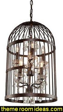 bird cage chandeliers