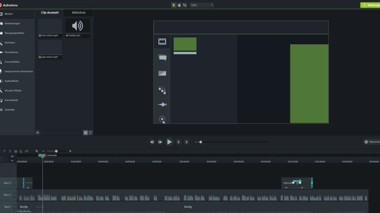 Camtasia Studio 2020 screenshot 1