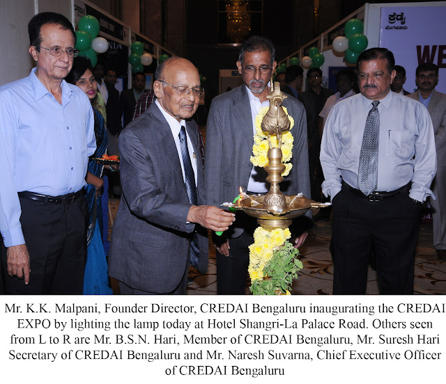 Second edition of CREDAI Expo 2016 at Hotel Shangri-la Palace Road sees large number of home buyers.