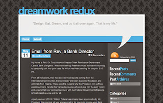 Dreamwork Redux Blogger Template