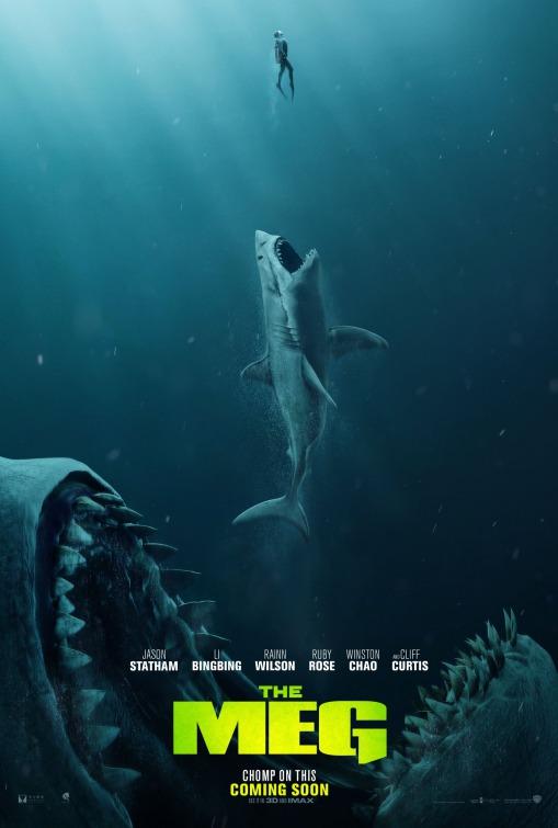 HOLLYWOOD SPY: PREMIUM SPOTLIGHT ON 'MEG' PREHISTORIC MEGALODON SHARK ADVENTURE MOVIE WITH JASON ...