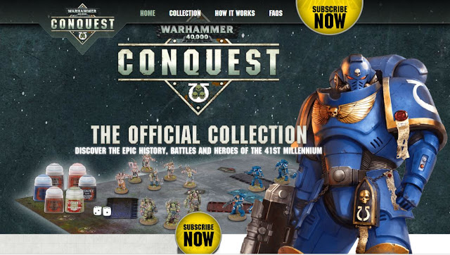 Warhammer 40,000 Conquest Pauses Publication