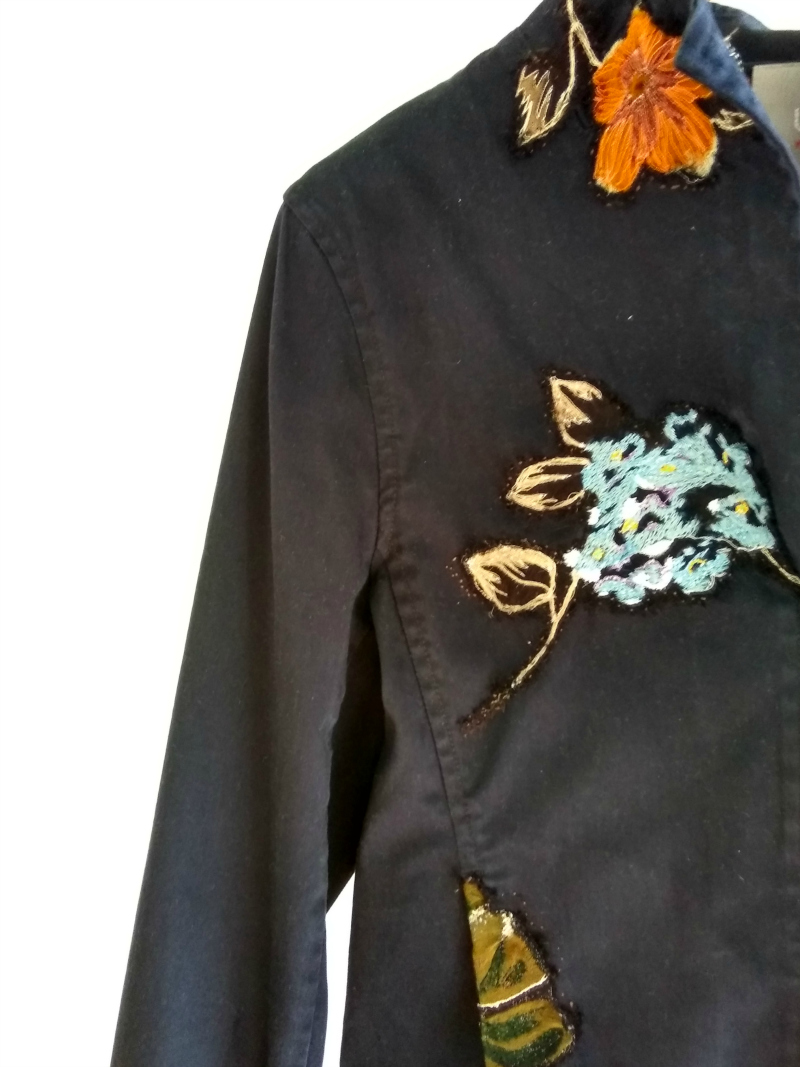 Mending Again - Embroidered Flower Patches