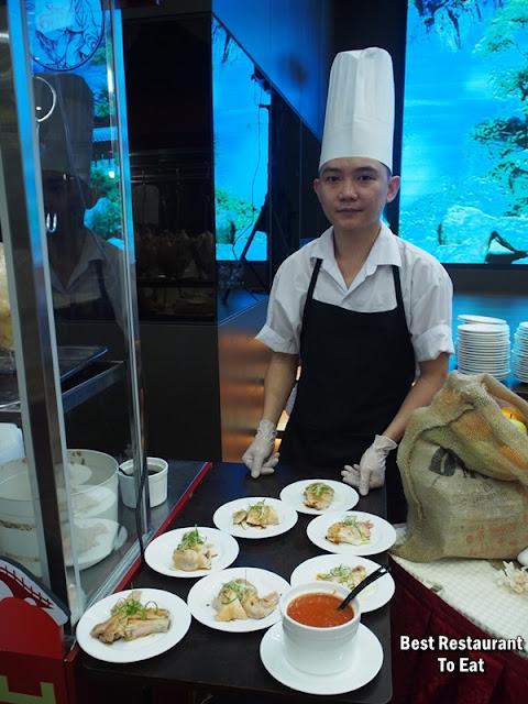 CELESTIAL DYNASTY Menu - Steamed Hainanese Chicken