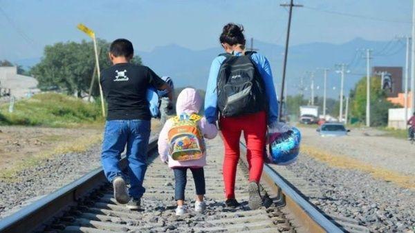 Unicef pide garantizar derechos de niños en caravana de migrantes