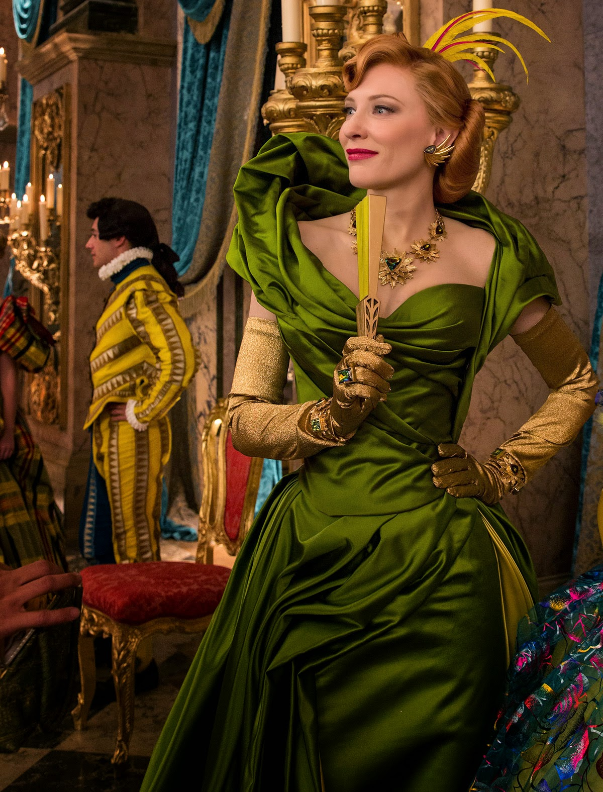Via Libris Notes  sc 1 st  Cautionary Women & How to Dress Like Lady Tremaine the Cate Blanchett Version ...