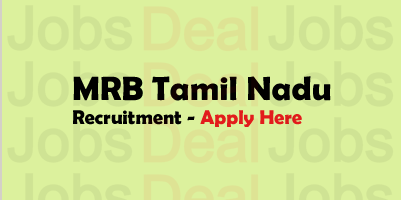 MRB Tamil Nadu Recruitment 2017