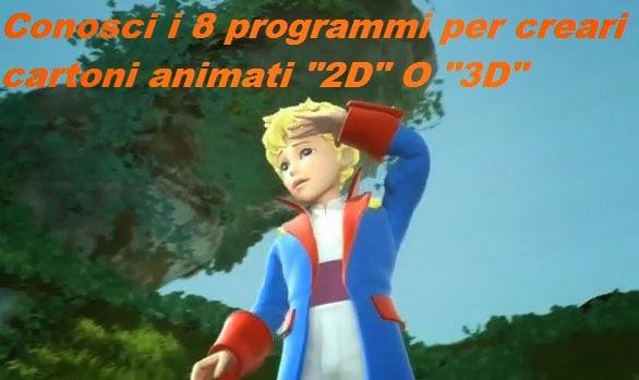 Gli 8 programmi migliori per creare cartoni animati 2d o for Programmi 3d gratuiti