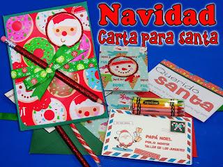 Ideas Para Regalar En Navidad Kit Para Escribirla La Carta A Santa
