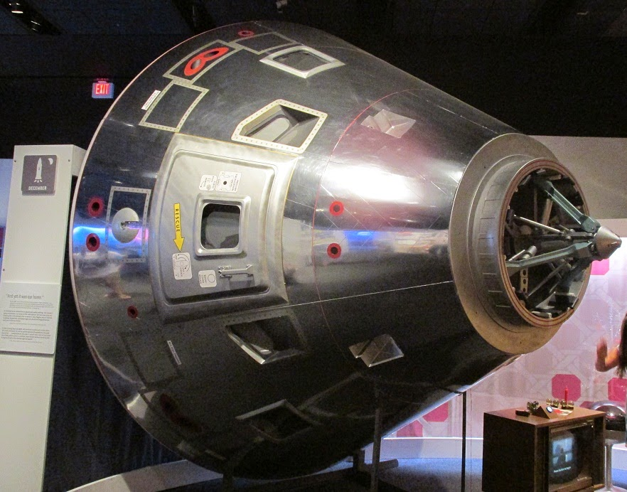 space capsule exhibit