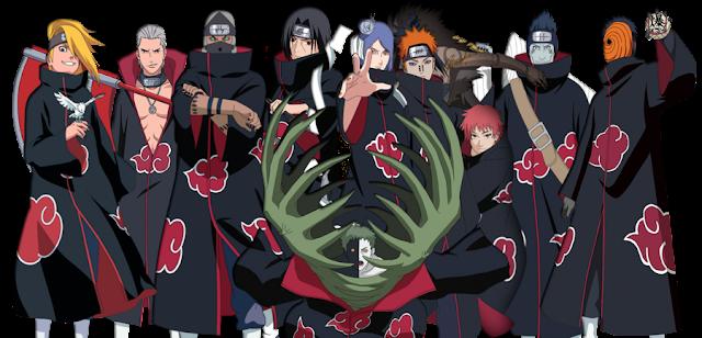 membros-Akatsuki-personagens-Naruto