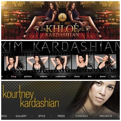 Popurrii: Las Kardashian / Jenner y sus blogs