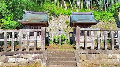 人文研究見聞録:揖取神社・祖母神社 [滋賀県]