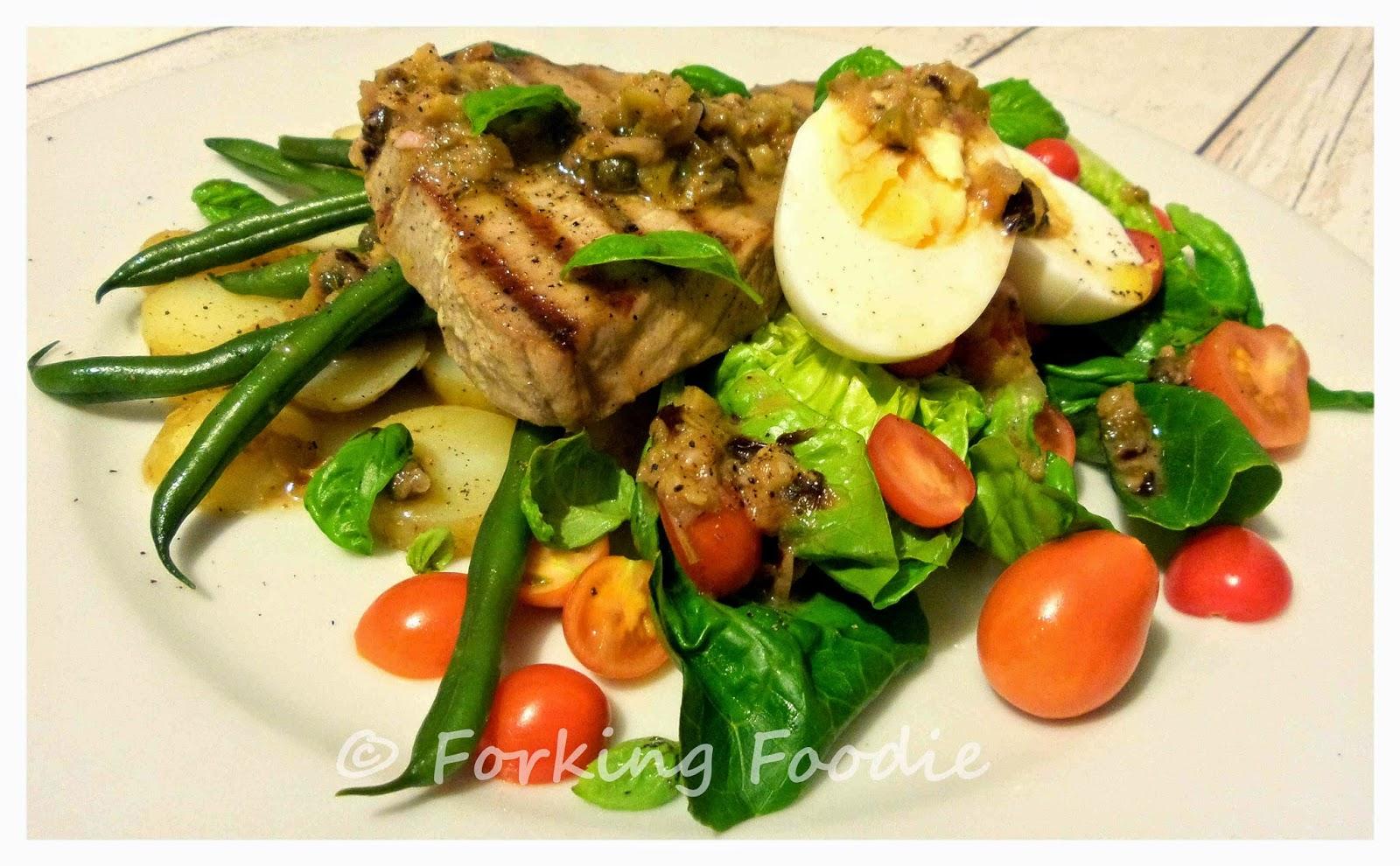 Forking Foodie: Seared Tuna Nicoise Salad (includes ...