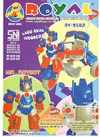 Sepeda Roda Tiga Royal Ry9582 Robot