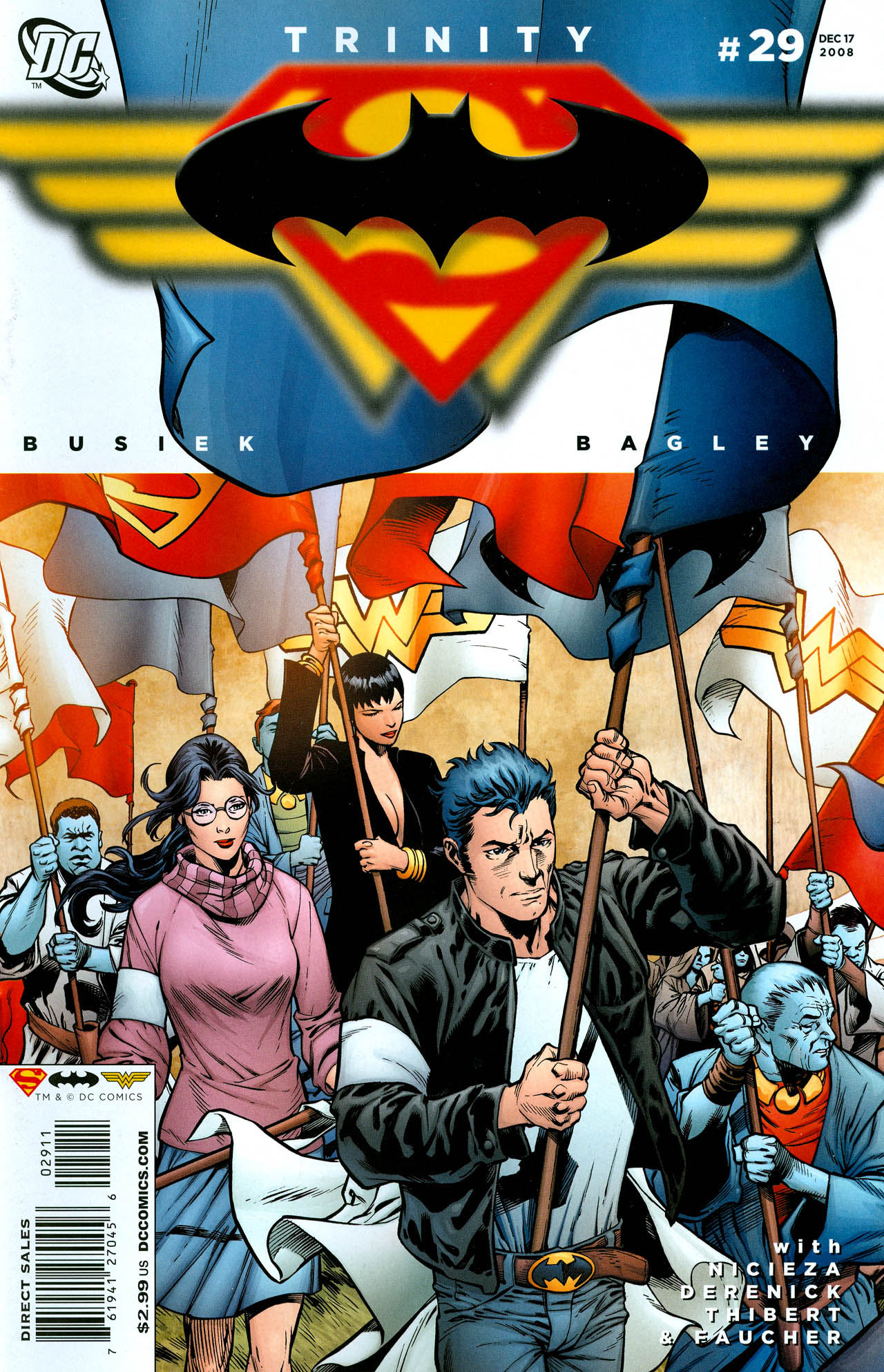 Read online Trinity (2008) comic -  Issue #29 - 1