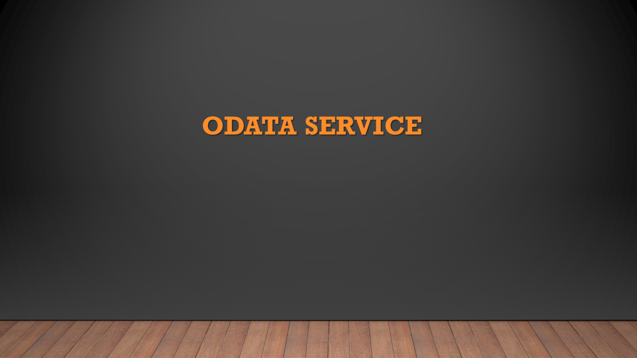 SAP HANA: ODATA Service | HANA