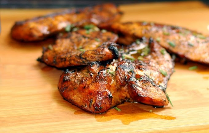 The BEST EVER Grilled Chicken Marinade #dinner #healthyrecipe
